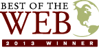 Best of the Web Winner 2013